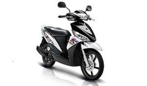 Sewa motor Yamaha Mio di Bali