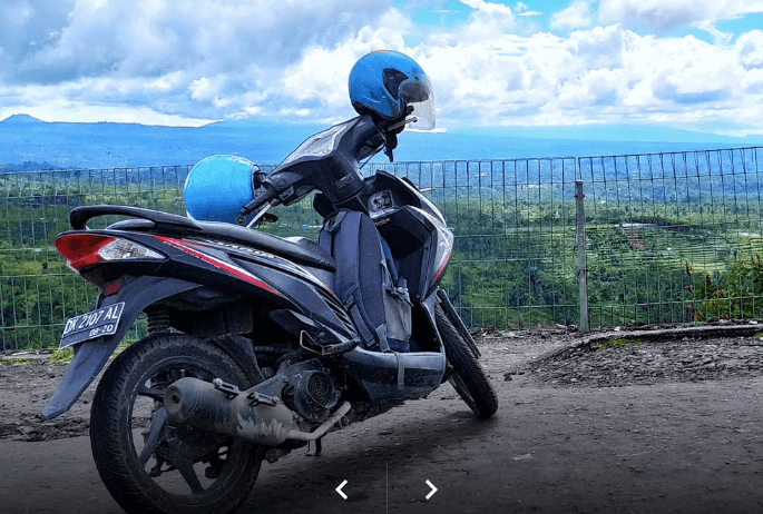 Wisata di Kuta dengan Sewa motor di Bali